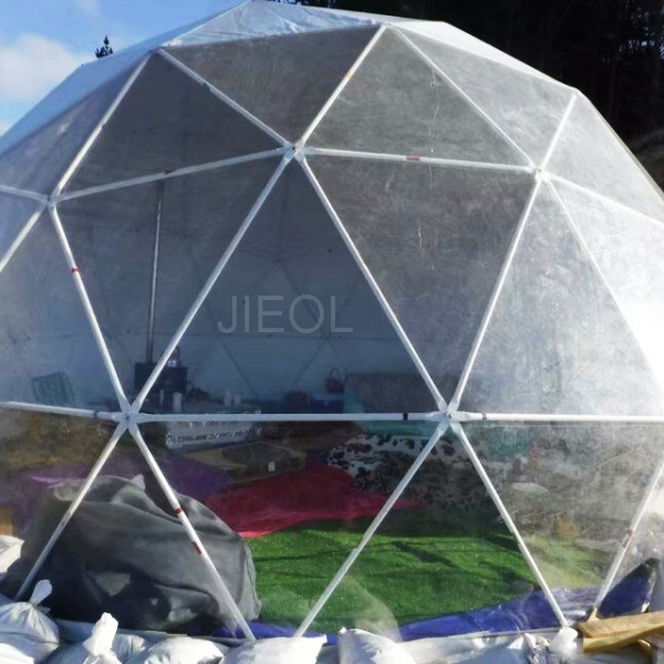 30 ㎡ camping igloo in New Zealand