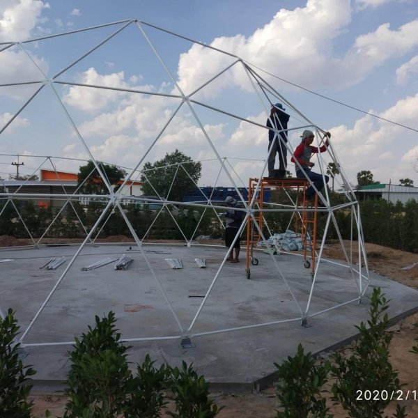 50 ㎡ event dome tent in Thailand