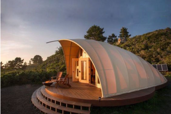Shell Shape Tent